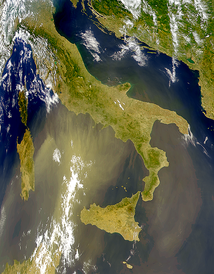 Dust Over Italy