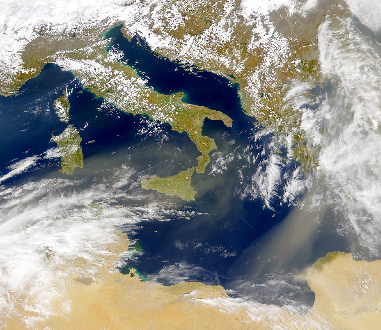 Polvorada mediterránea