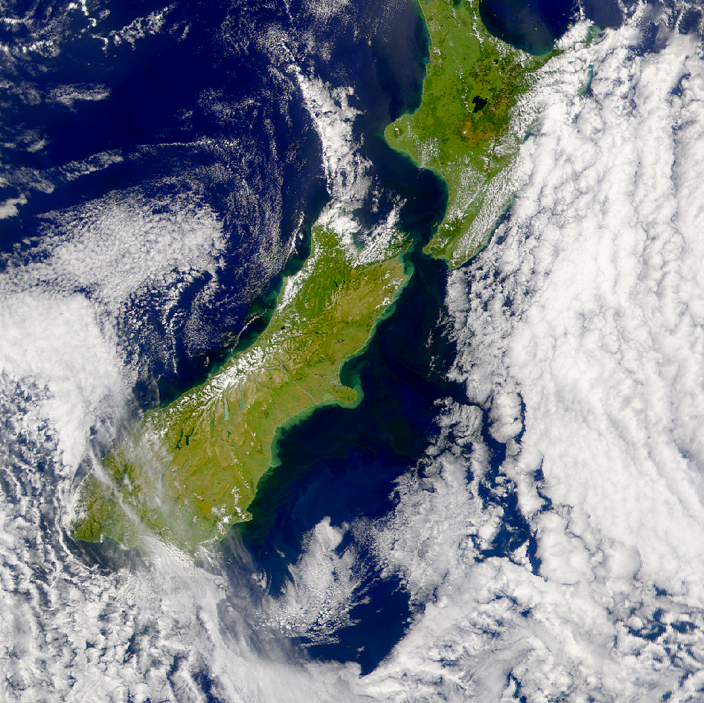 Runoff from Flooding in New Zealand