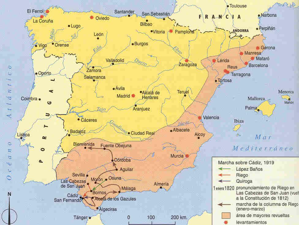 Revolución de 1820 en España