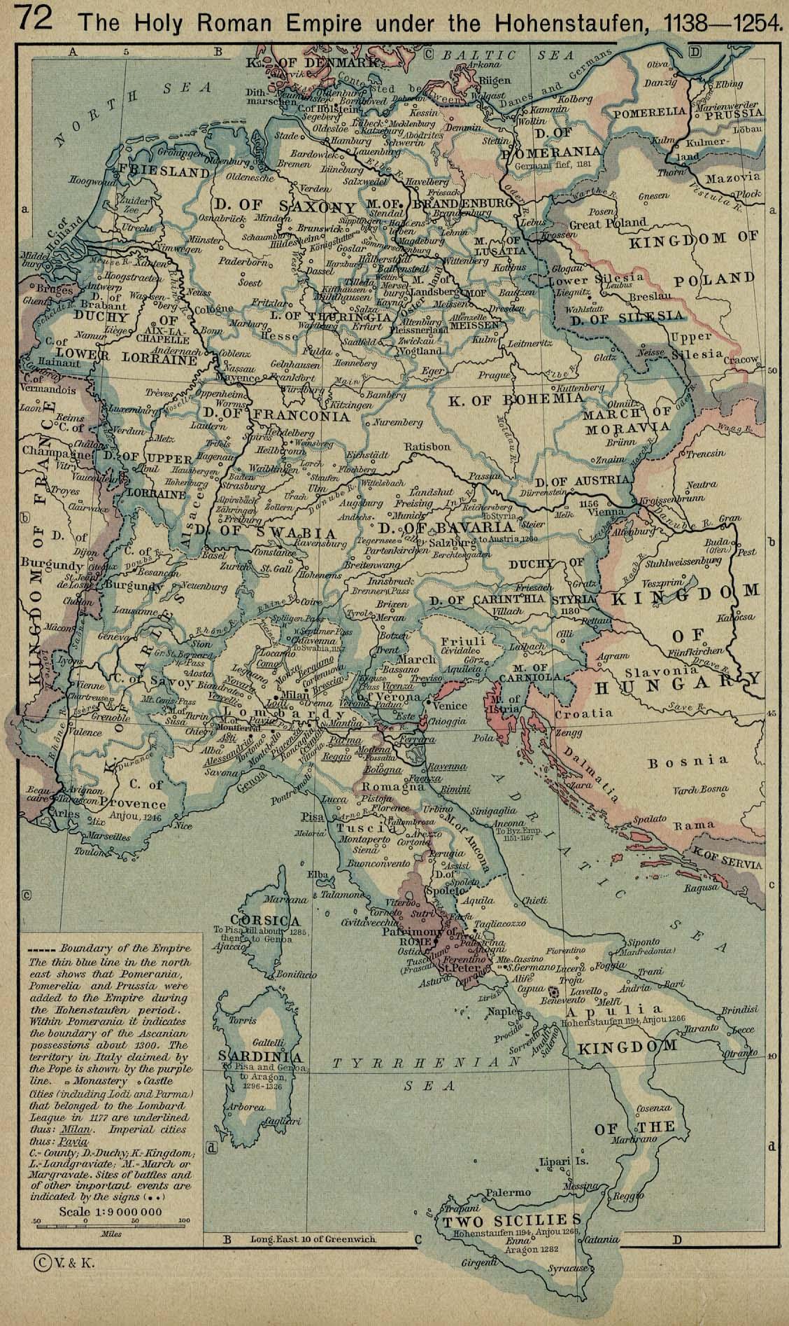 The Holy Roman Empire 1138-1254