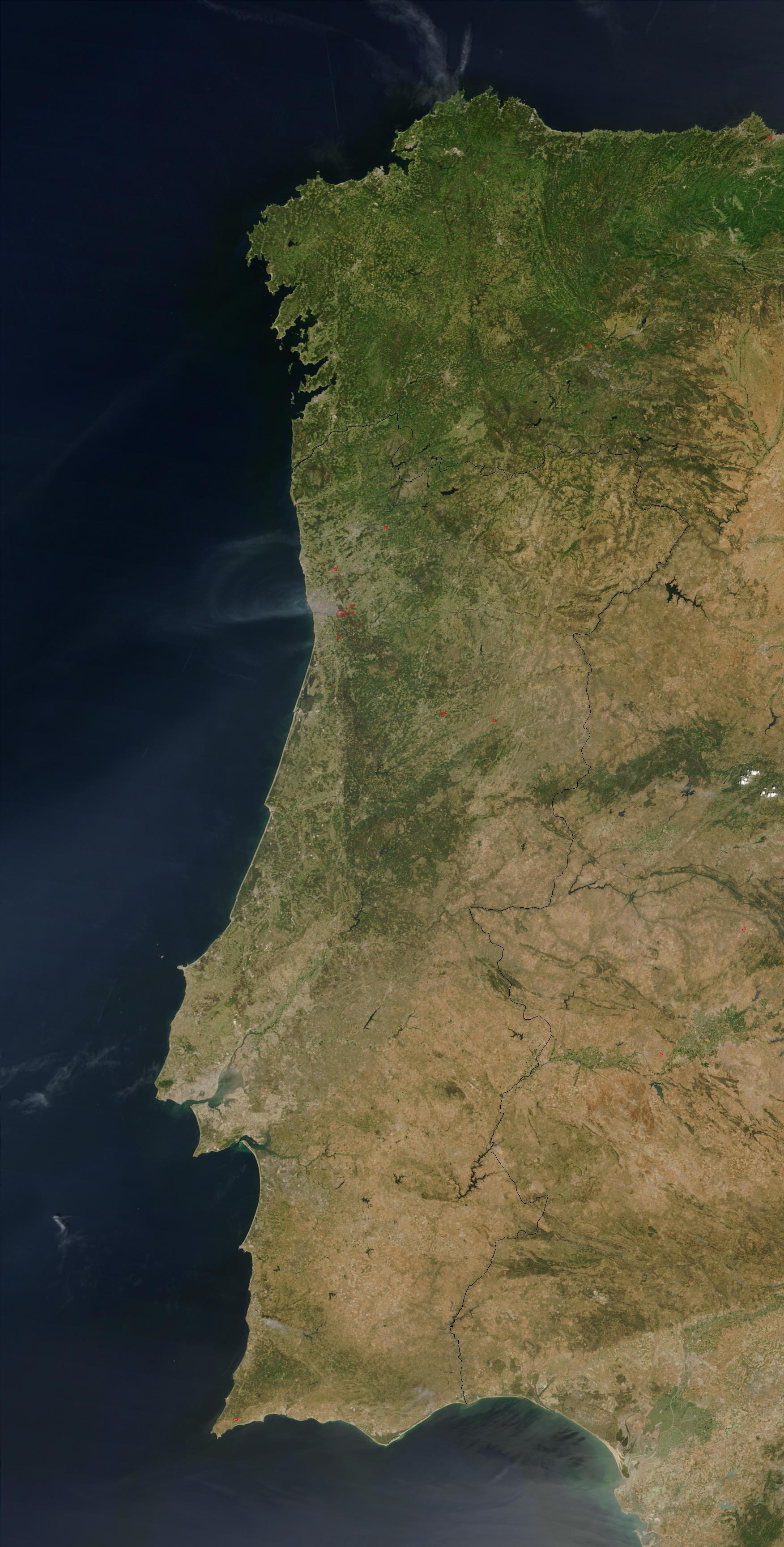 mapa de portugal visto por satelite VERITATIS: Fevereiro 2012 mapa de portugal visto por satelite