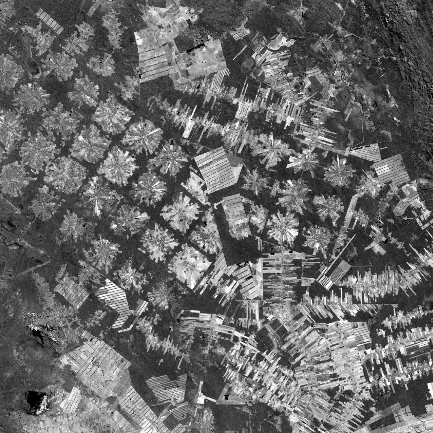 Satellite Image, Photo of Tierras Baja Project, Bolivia