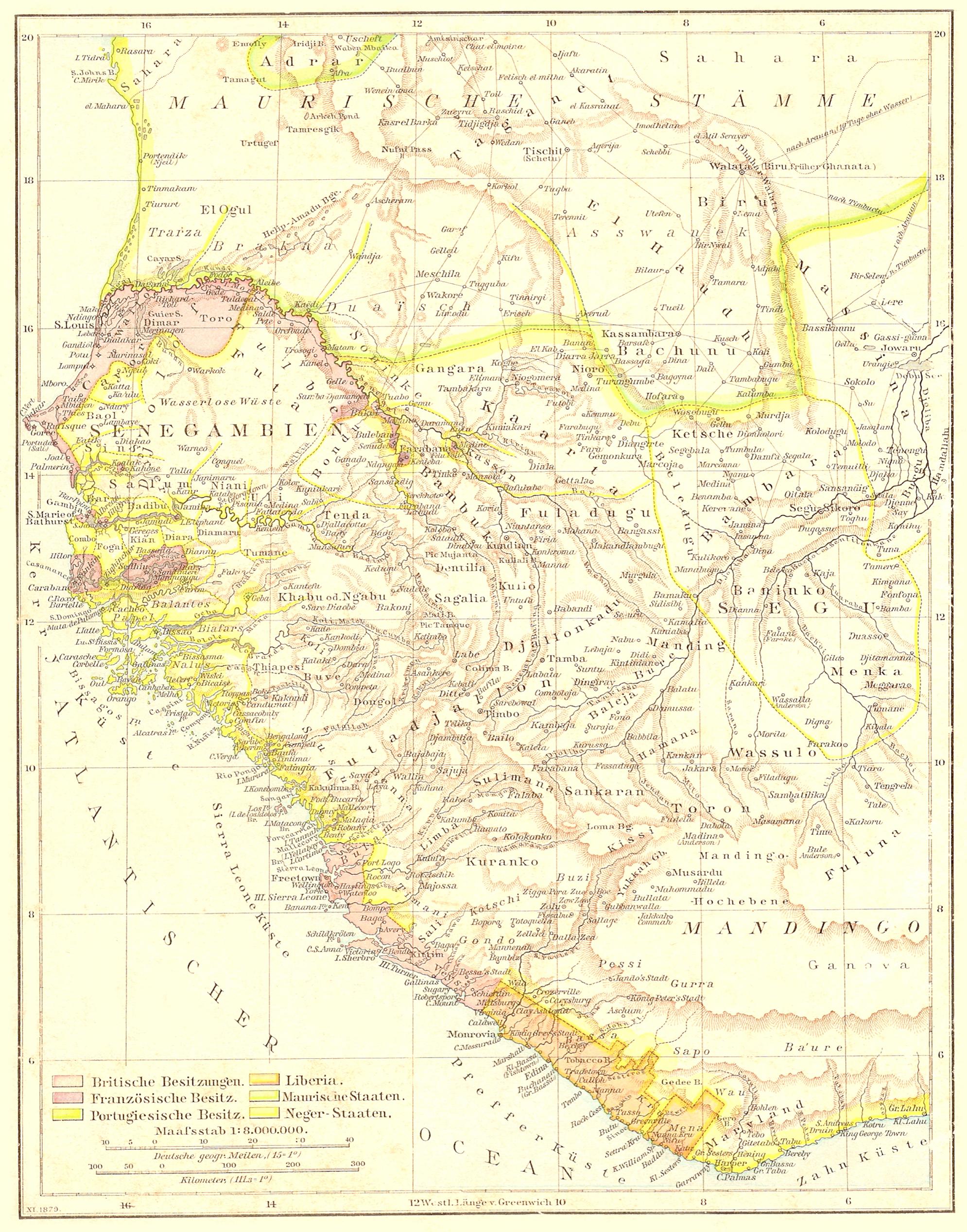 Senegambia 1879