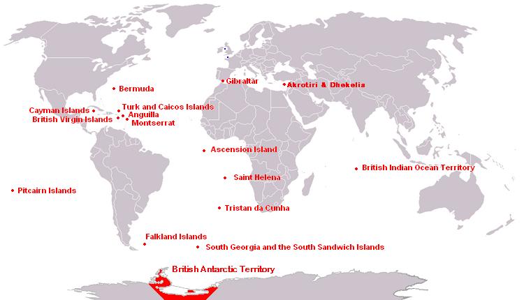 Territorios Británicos de Ultramar