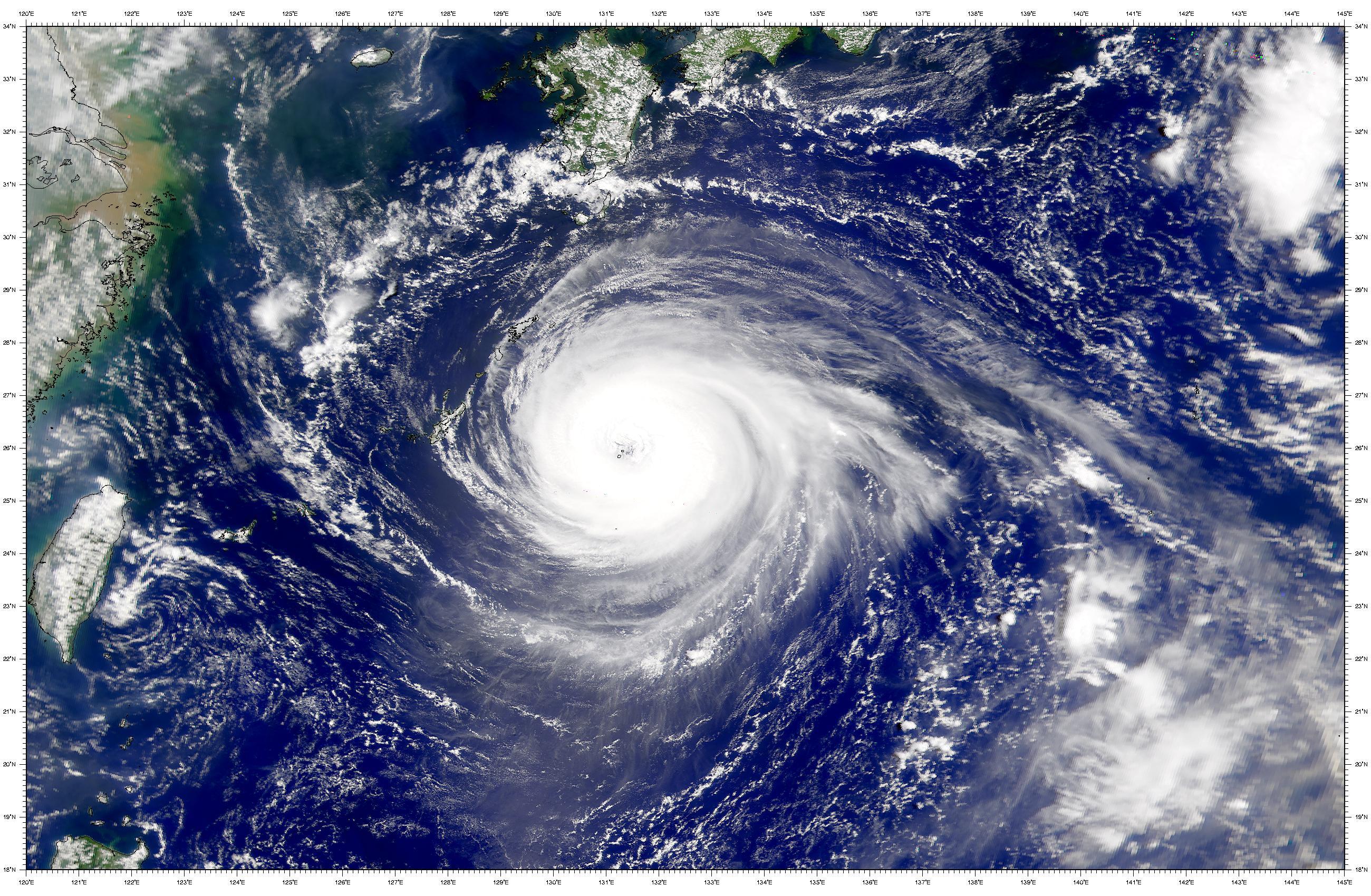 Tifón Jelawat