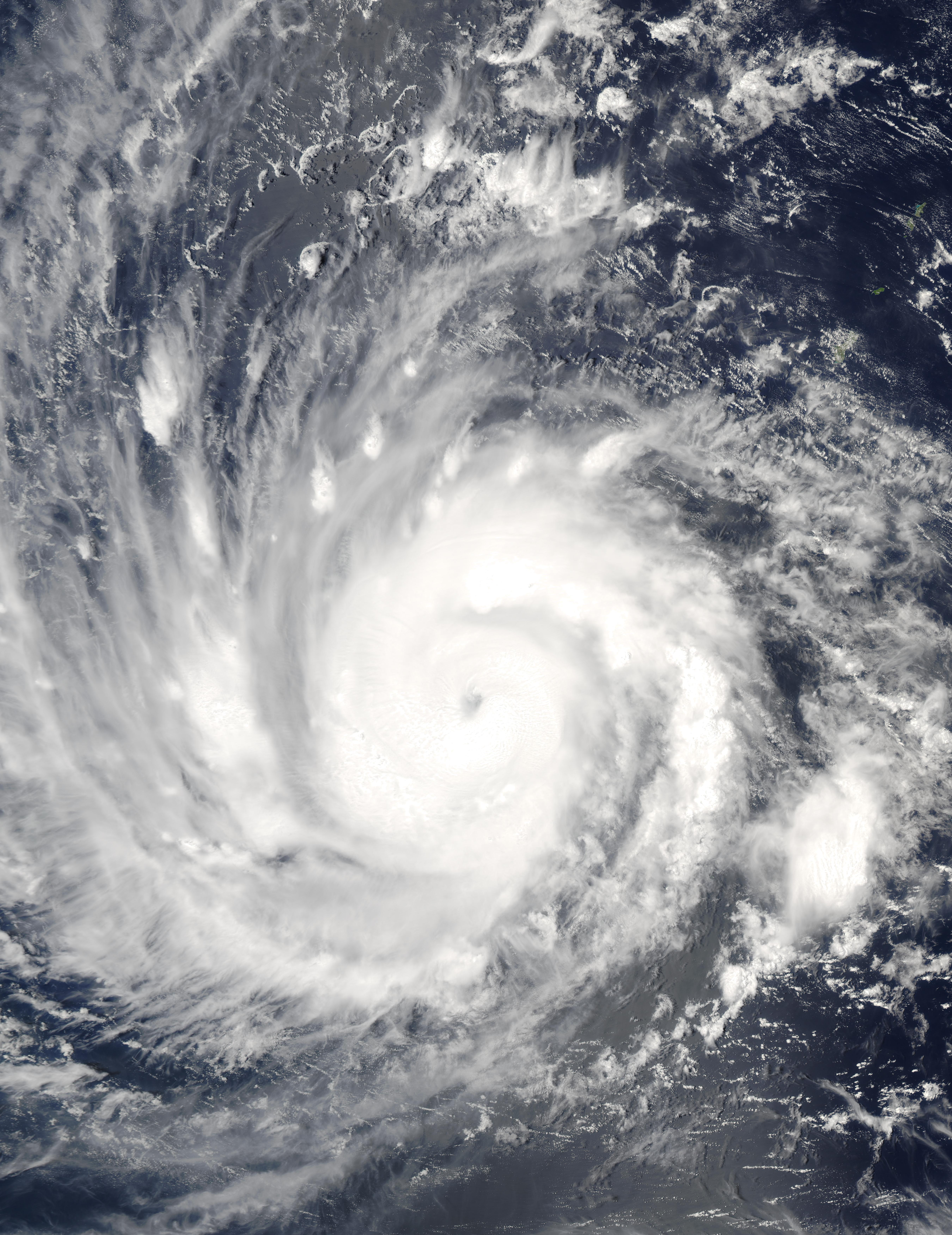 Typhoon Sudal (03W) east of the Philippines