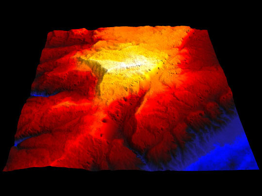 Topografía de alta resolución del futuro