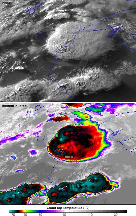 Tormentas engendran tornados