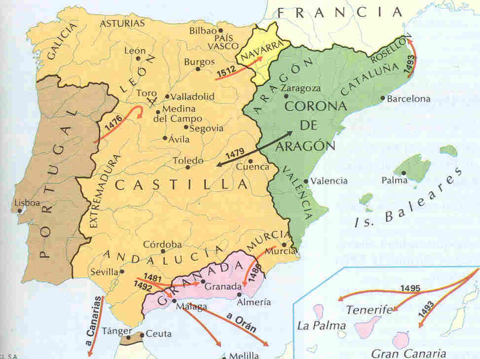 Spain unity with the Catholic Monarchs