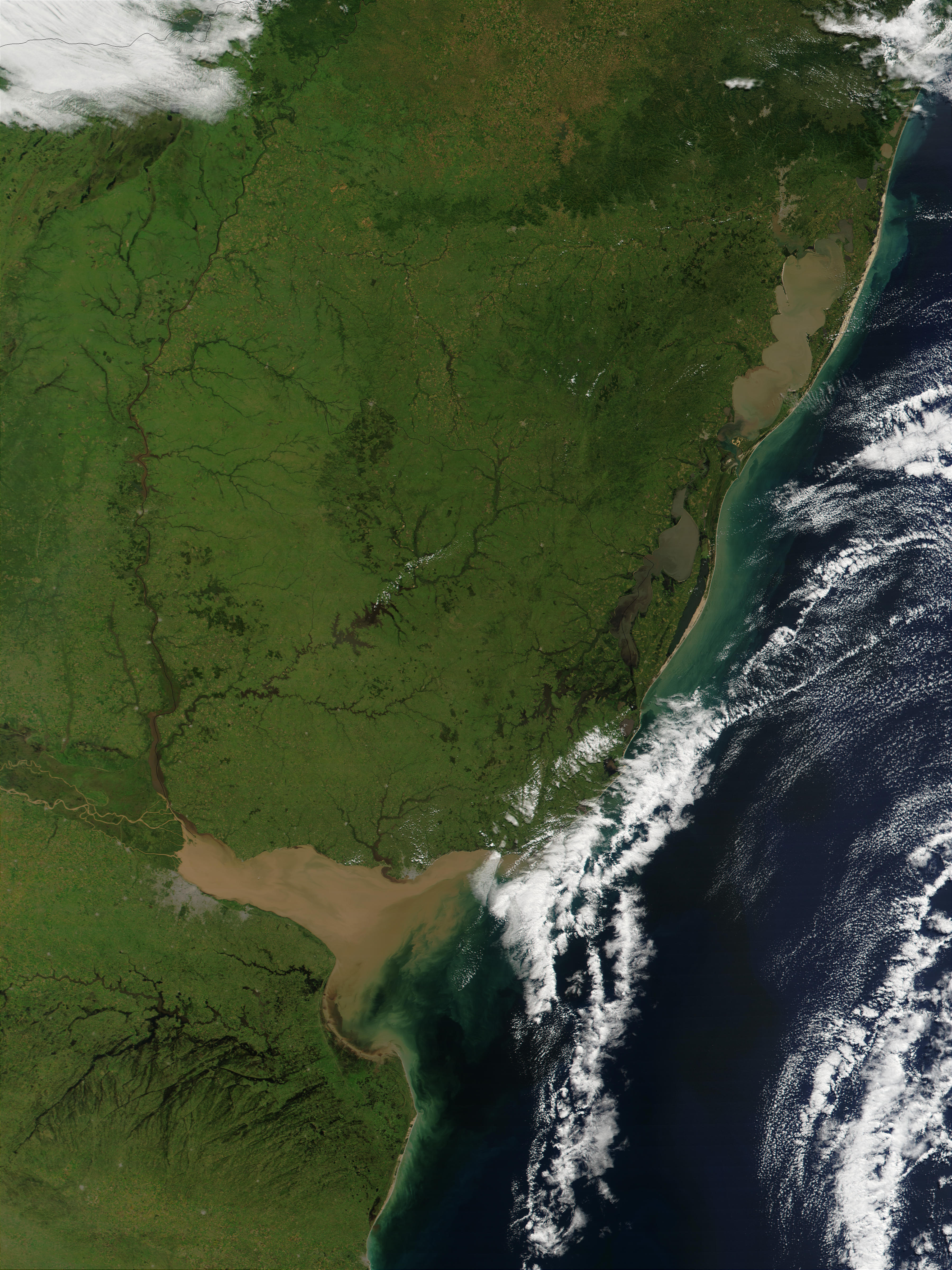 Uruguay y Brasil austral