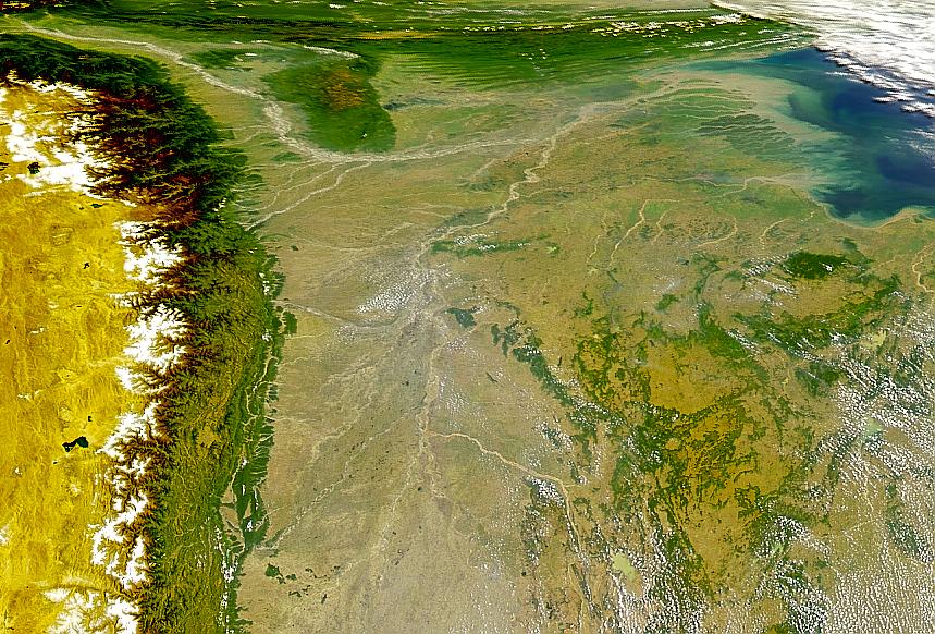 Valles de los ríos Ganges y Brahmaputra