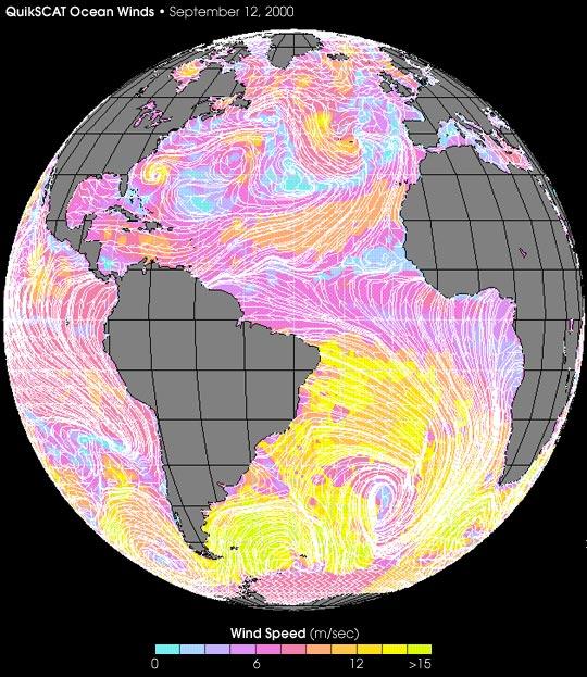 Vientos del Huracán Florence
