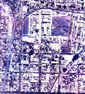 Vista aerea del Complejo Fabril Córdoba, Argentina