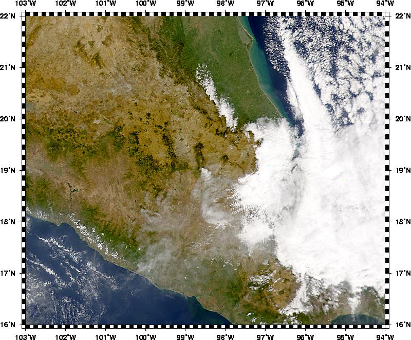 Volcán Popocatépetl erupciona