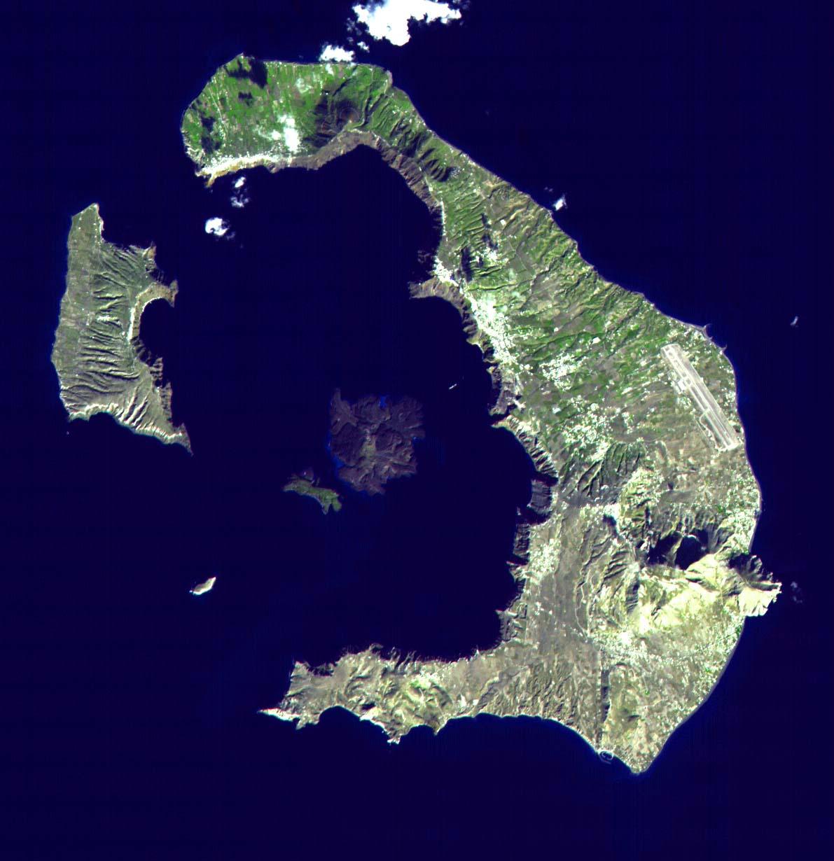 Volcán Santorini, Grecia