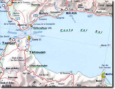 Zona Geografica de Ceuta