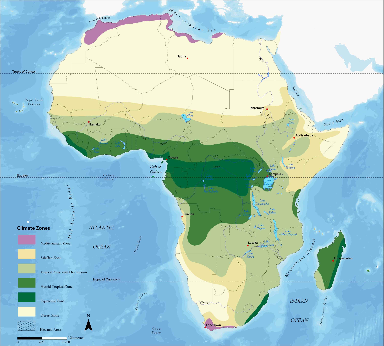 Zonas Climáticas de África