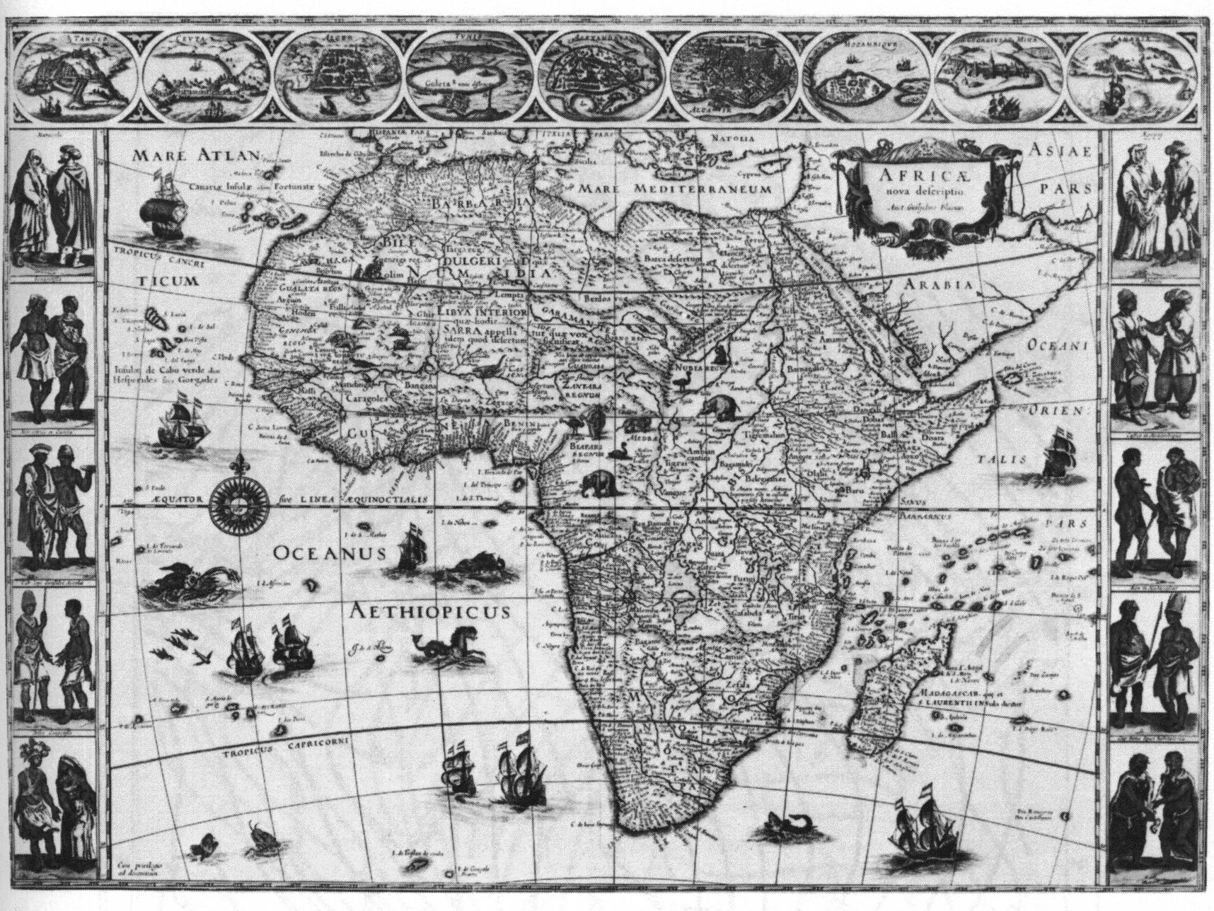 Africa in 1648