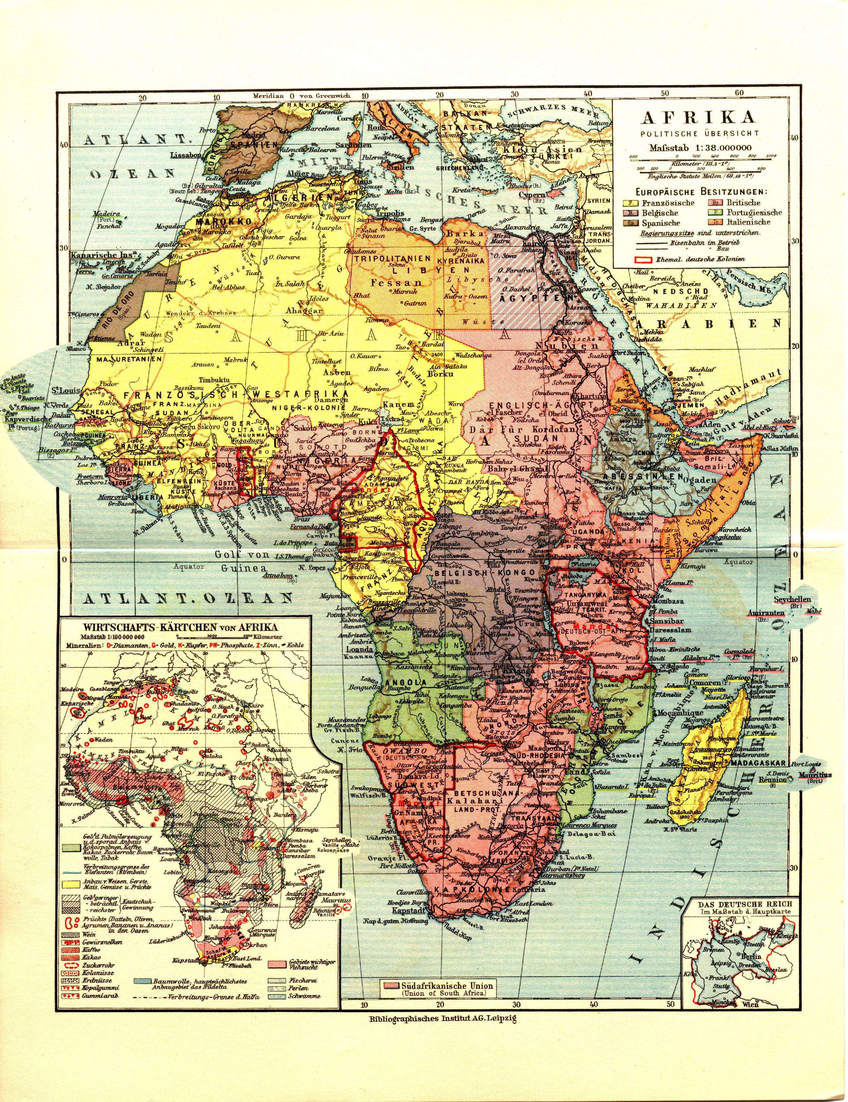 África en 1932