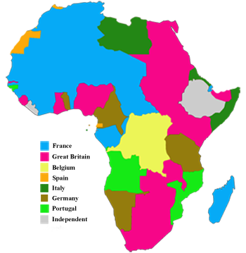 Colonial Africa in 1914