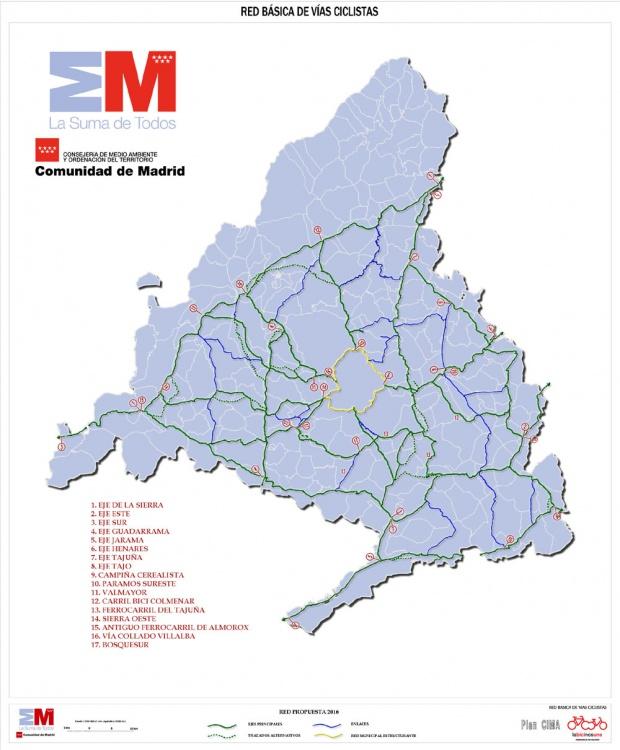 Mapa Comunidad De Madrid Politico.Mapas Politico De Comunidad De Madrid