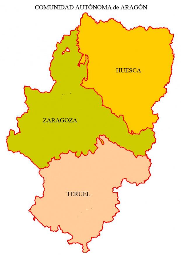 Provincias de Aragón