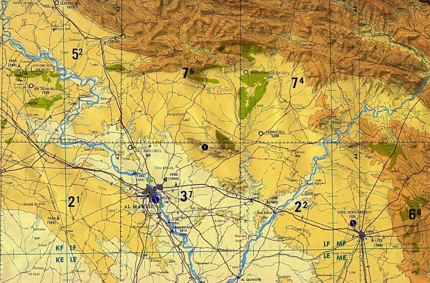 Región de Mosul y Erbil, norte de Irak 1989