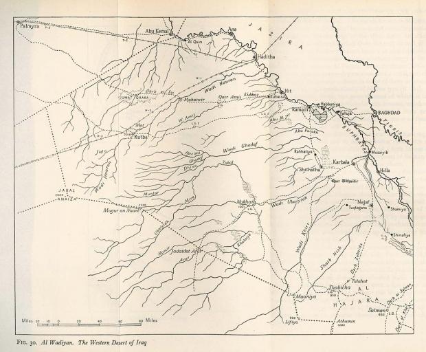 Desierto occidental de Irak 1944