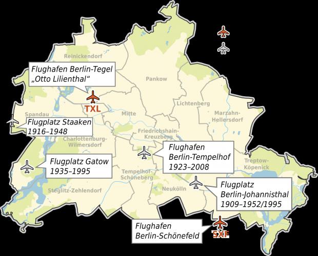 Aeropuertos de Berlín 2008