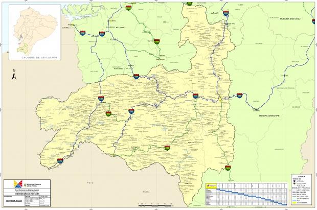 Mapa de Loja 2010