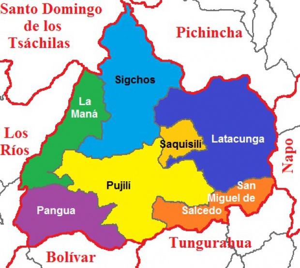 Cantones de Cotopaxi 2011