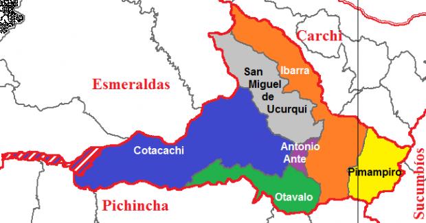Cantones de Imbabura 2011