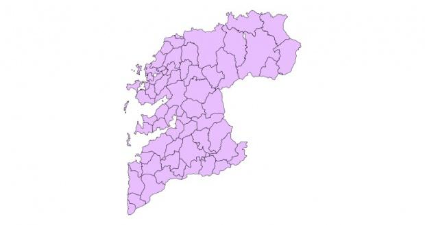 Municipios de la Provincia de Pontevedra 2003