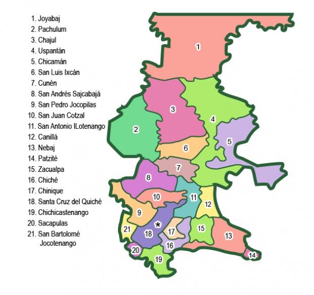 Municipios de Quiché