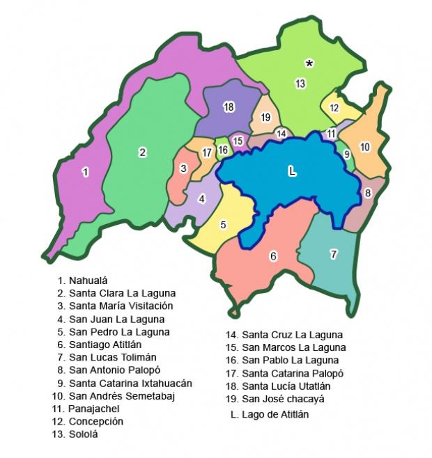 Municipios de Sololá