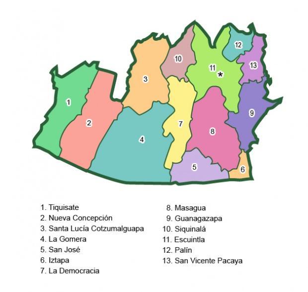 Municipios de Escuintla