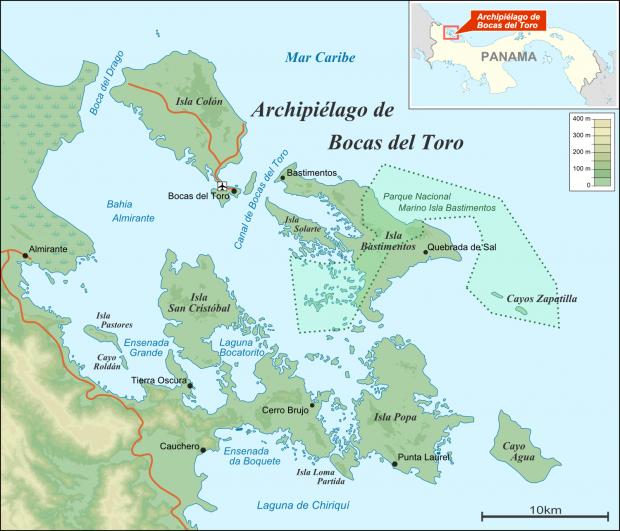 Archipiélago de Bocas del Toro 2009