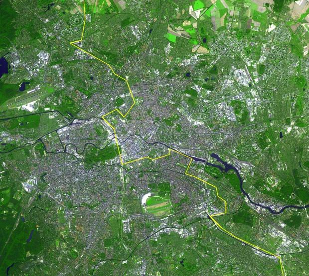 Mapa General de Berlín del año 2002