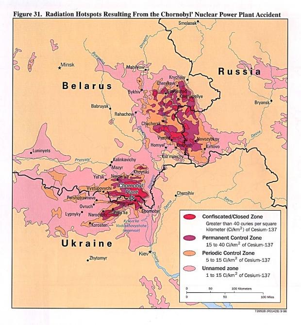Accidente de la Planta de Energía Nuclear de Chernobyl 1996