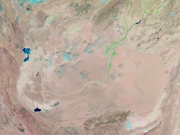 Afganistán meridional (antes de las inundaciones)