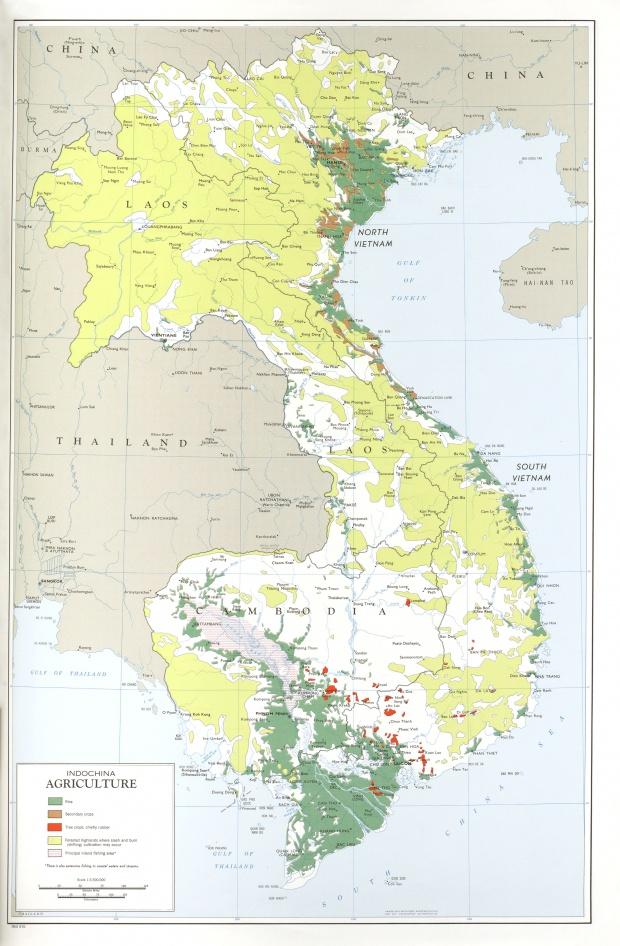 Agricultura en Indochina