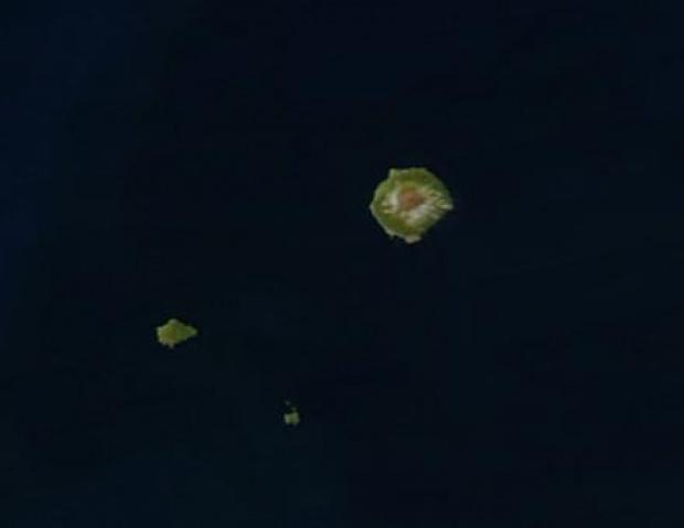 Archipiélago Tristán da Cunha, Océano Atlántico sur