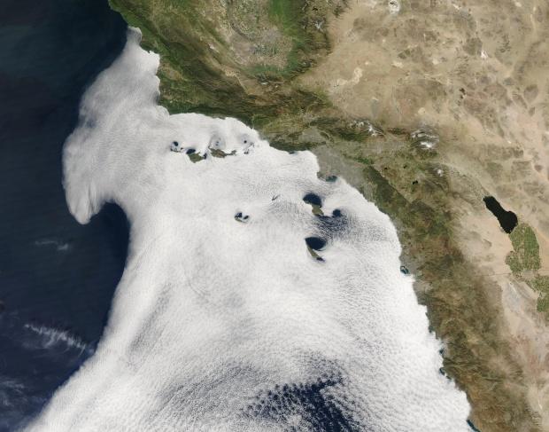 Archipiélago del Norte cerca de California Meridional