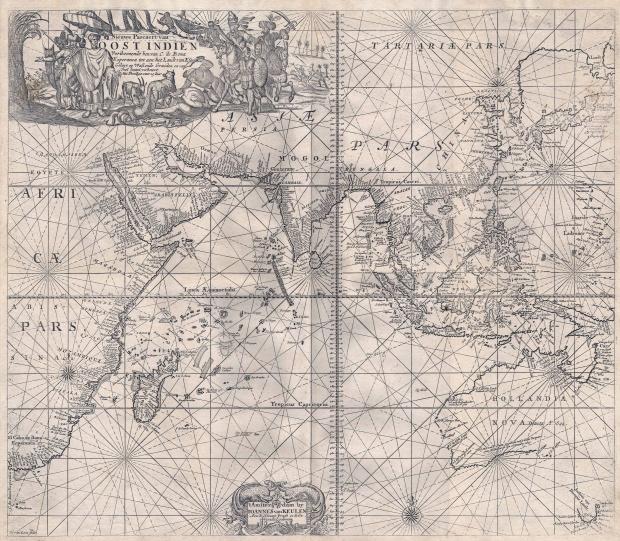Asia en 1689