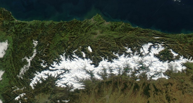 Asturias en Enero 2003