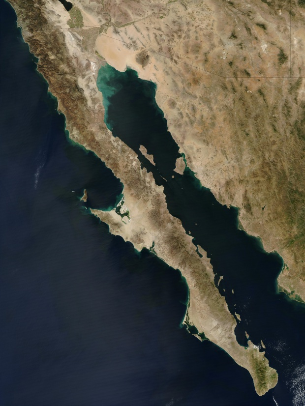 Baja California Península en  México occidental
