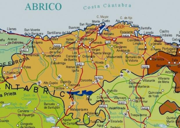 Mapa Asturias Por Municipios Mapas De Pared