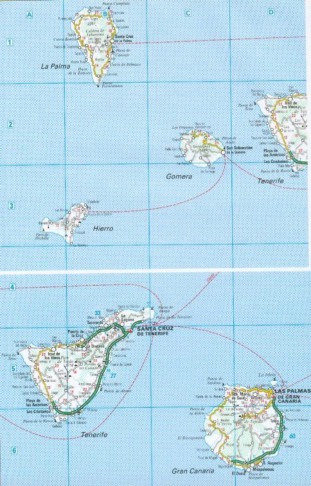 Carreteras de las Islas Canarias