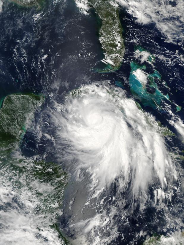 Ciclón tropical Isidore al sur de Cuba